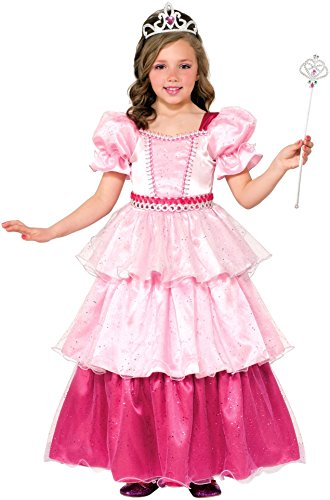 [Forum Novelties Pink Sugar Princess Costume, Medium] (Prince And Princess Costumes)