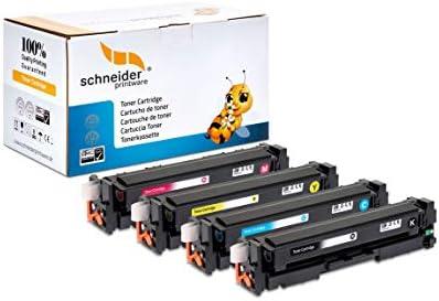 4 Schneider Printware Toner 35 Höhere Reichweite Kompatibel Für Hp 305a Für Hp Laserjet M351a Pro 300 M351a M375nw 400 M451 Dn Dw Nw Pro 400 M475dn M475dw Bürobedarf Schreibwaren