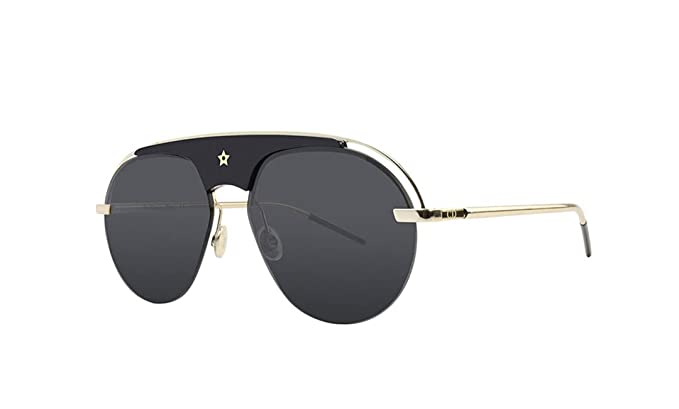 e88dd869bfe Amazon.com  Dior Evolution Sunglasses 58mm Black Gold  Clothing