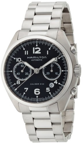 Hamilton Men's 'Khaki Aviation' Swiss Automatic Stainless Steel Casual Watch, Color:Silver-Toned (Model: H76416135) by Hamilton