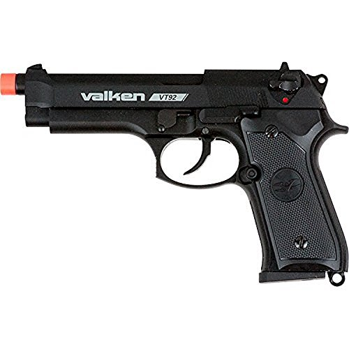 Valken Airsoft Pistol - VT92 Gas Blowback Metal-6 mm