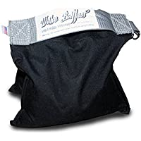 Wake Ballast Bag (25 Lb.) 25 pounds Bag for Photo Video Studio Stage Film,better than Sand Bags for Backgrounds Light Stands Boom Arms Tripods. EZ-Up holder.Non-toxic Steel Pellets, Canopy. USA made