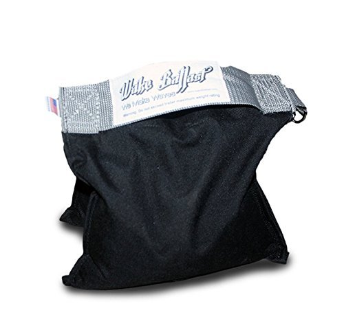 Wake Ballast STEEL SHOT Bag(25 Lb.) 25 pounds Bag for Canopy, Studio, Stage Film,better than Sand Bags for Backgrounds Light Stands Boom Arms Tripods. EZ-Up holder.Non-toxic Steel Pellets USA made (Stand Bag Shot)