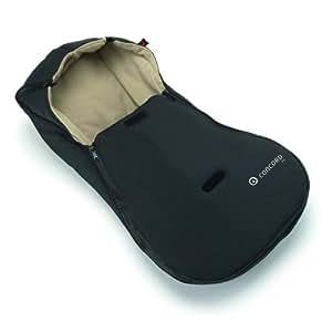 Concord - Saco de abrigo para silla de coche, color negro (SBI0055)