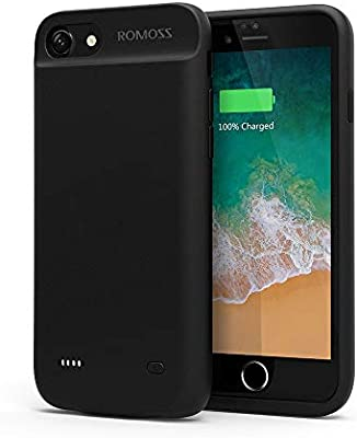 Iphone 7 Battery Case Romoss Ultra Slim Extended Battery Case For Iphone 7 4 7 Inch With 2800mah Capacity Black Buy Online At Best Price In Ksa Souq Is Now Amazon Sa