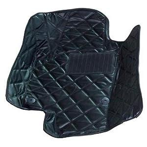 优踏 凯迪拉克2010款srx脚垫 高档皮革脚垫 大包围脚垫 黑色 高清图片