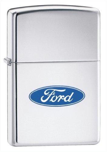 Zippo Ford Oval High Polish Chrome ()