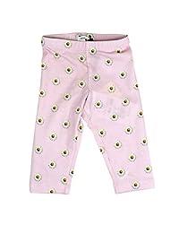 MONNALISA Baby Girls 31340936630090 Pink Cotton Leggings