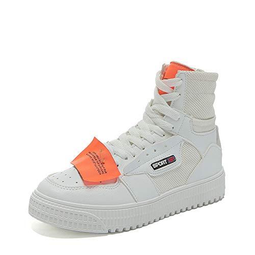 Hop Plano Alta Nuevos Style XINGMU Street De Blanco Hip Deportivos Clase Zapatos Estilo x0ZnUZ6