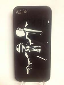 (649bi5) Daft Punk iPhone 5 Black Case