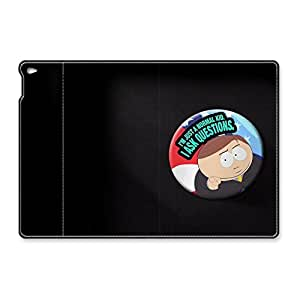 VUTTOO iPad Air 2 Case - VUTTOO Slim Fit Leather Case for iPad Air 2 South Park Just A Normal Kid Fashion Patterns Folding Leather Case and Cover for iPad Air 2