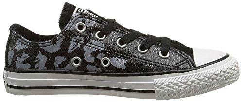 Converse Ct Bb Animal Ox, Unisex-Kinder Sneakers Schwarz (Noir/Blanc)