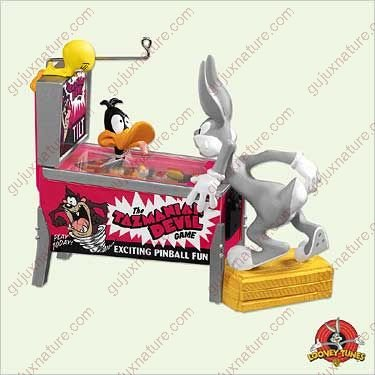 Hallmark Looney Tunes (Hallmark Keepsake Ornament - Looney Tunes Pinball Action Magic Flashing Lights and Sound 2005 (QXI8775))