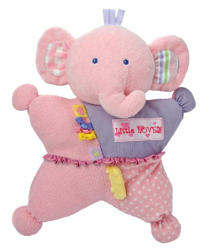 Kids Preferred Label Loveys Little Comfort Cuddly Tactile Toy, Lovey Elephant, Baby & Kids Zone