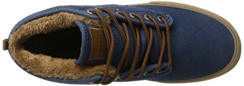 Mid Hombre Navy Zapatillas Gum Azul Motley Fur Globe 65qwtt