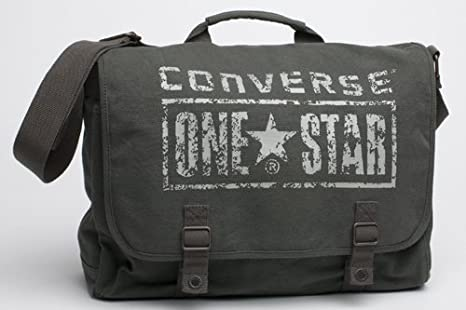 e01f5ba949 Converse Borsa a tracolla One Star All Star Chucks in verde militare ...