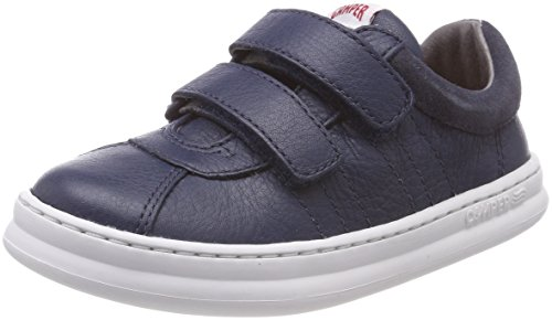 Camper Kids Boys' Runner Four K800139 Sneaker, Navy, 38 M EU Big Kid (7 US) - Camper Leather Sneakers