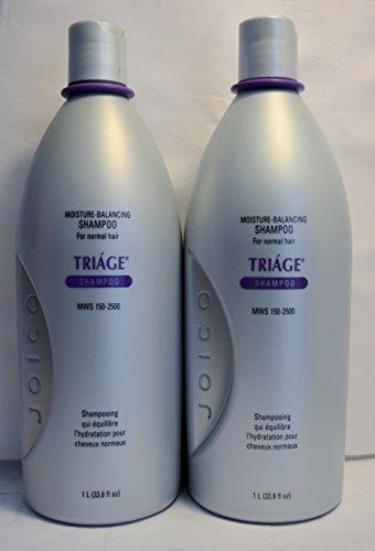 Triage Moisture Balancing Shampoo (Joico Triage Moisture Balancing Shampoo 33.8oz (2)