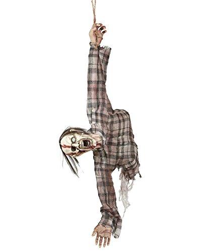 widmann 01405-for Halloween Party Decoration 'Zombie Torso'