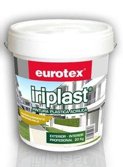 Pintura Blanca Interior Exterior Lavable 20 Kg EUROTEX