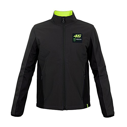 2018 VR46 Valentino Rossi #46 MotoGP Monster Mens Softshell, used for sale  Delivered anywhere in USA