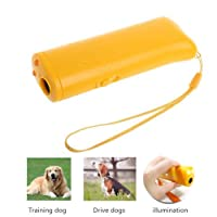 3 in 1 Anti Barking Stop Bark Ultrasonic Pet Dog Repeller Training Device Trainer With LED