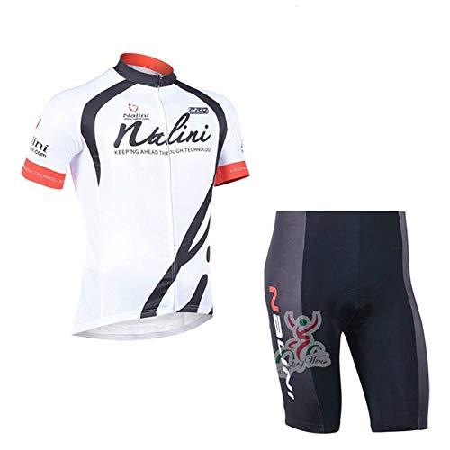 Nalini Cycling Clothing - cycling jerseys Women Bike Shirts Tights Girl Biking Clothing Sets Bicycle Jacket234 (01A, Medium)