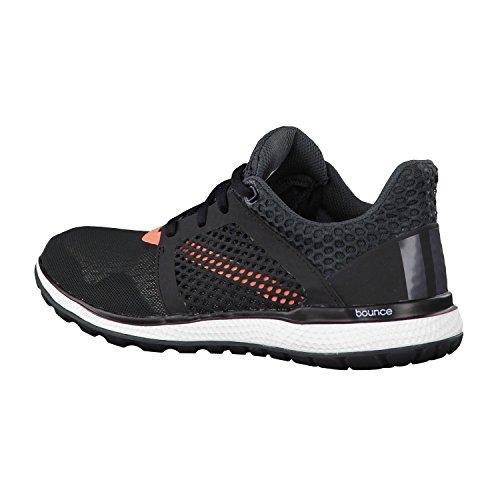 adidas Energy Bounce 2 W, Zapatillas de Running para Mujer Negro / Gris / Rojo (Negbas / Griosc / Brisol)