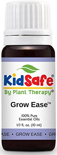 Plant Therapy KidSafe Grow Ease Synergy Essential Oil 10 mL (1/3 oz) 100% Pure, Undiluted, Therapeutic Grade