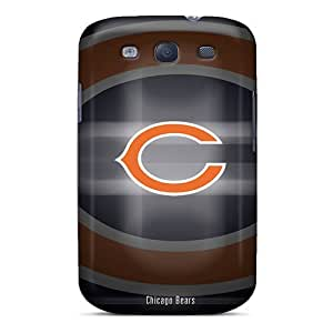 Galaxy S3 Chicago Bears Print High Quality Tpu Gel Frame Cases Covers