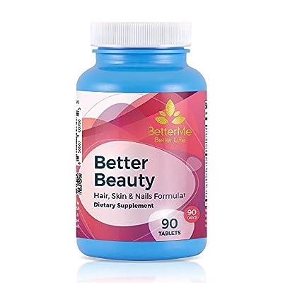 Better Beauty, Hair, Skin and Nails Supplement, 3,500 mcg Biotin, 70 mcg Selenium, 250 mg Hydrolyzed Gelatin, 10 mg Pantothenic Acid, 90 Tablets