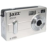 Jazz JDC64 4.0MP Digital Camera (Silver) (Discontinued by Manufacturer)