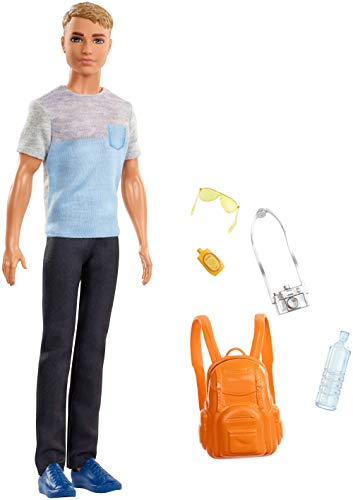 Barbie Travel Ken Doll (Ken Doll Accessories)