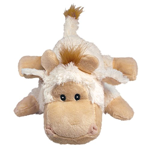 KONG Cozie Tupper the Lamb, Medium Dog Toy, Tan ()