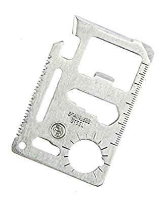 SE 11-Function Stainless Steel Survival Pocket Tool