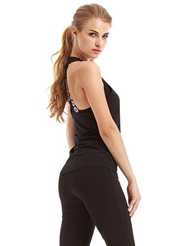 TeeDoc Women Activewear Gym Racerback Blouse Sport Shirt Yoga Tank Top