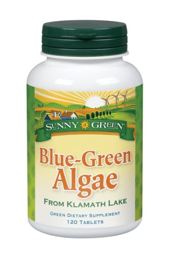 Sunny Green Blue Green Algae, 120-Count