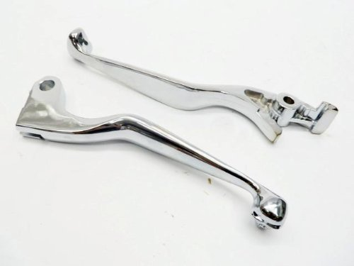 Chrome Brake Skull Levers For 1998-2010 Honda Shadow 600 ...