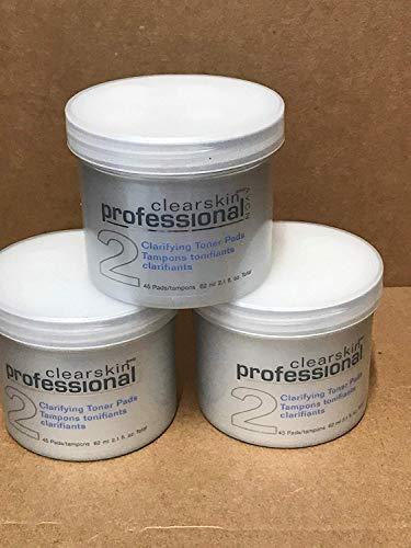 Avon Clearskin Professional Clarifying Toner Pads Lot 3 Jar