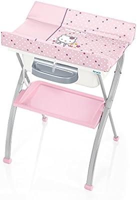 Hello Kitty plegable tabla que cambia por Brevi: Amazon.es: Bebé