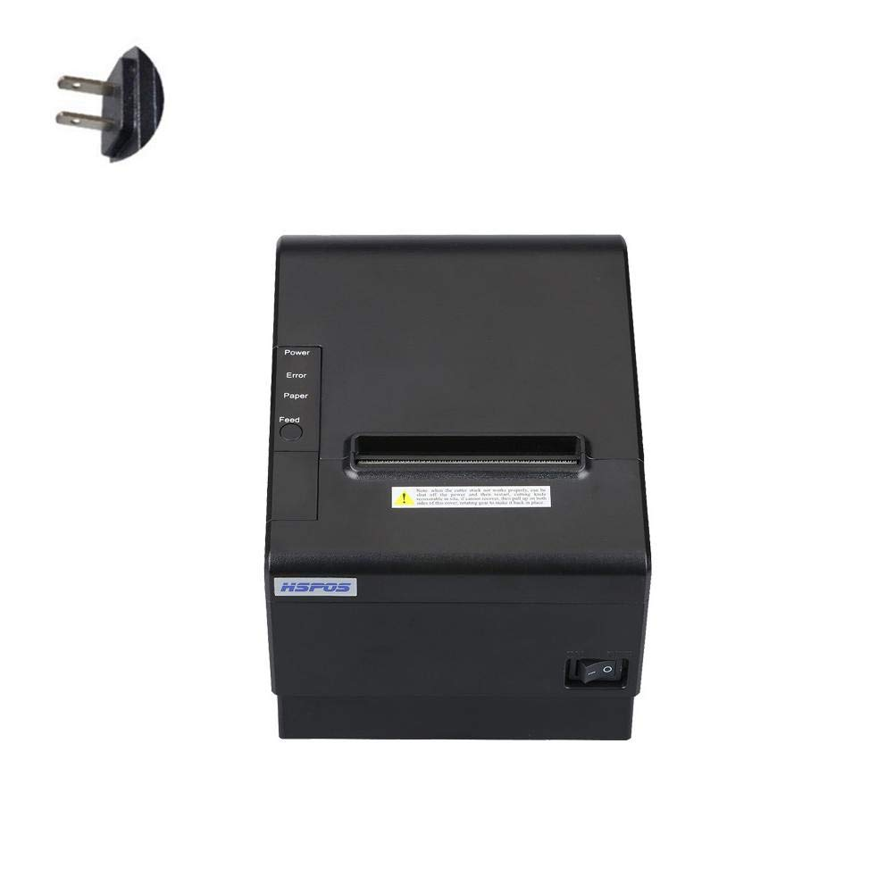 80mm Thermal Receipt POS Printer Windows Driver Auto Cutter with USB Serial Ethernet ESC/POS RJ11 RJ12 by Oshide (Image #1)