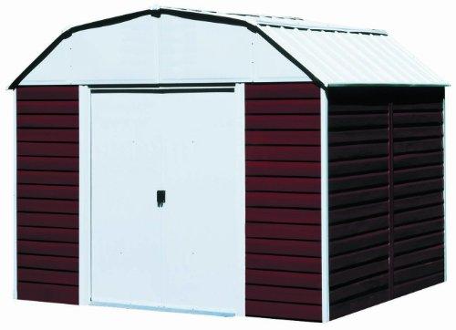 Arrow RH1014 Red Barn 10-Feet by 14-Feet Steel Storage Shed by Arrow Shed