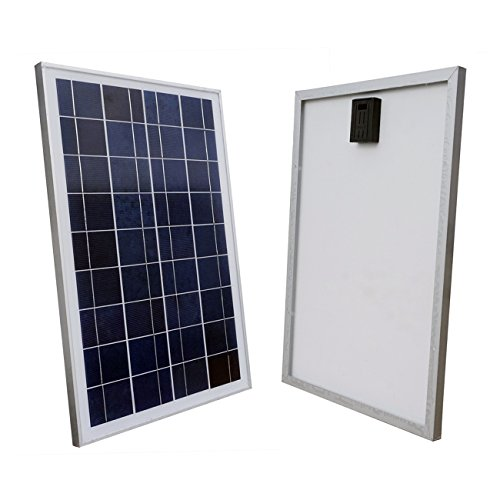Power System Tied Grid Solar (ECO-WORTHY 12V Volt Solar Panel 25W Watt Module Off Grid Charging RV Boat)