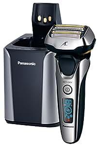 Panasonic ES-LV9N Máquina de afeitar de láminas Recortadora Negro, Plata - Afeitadora (Máquina de afeitar de láminas, Negro, Plata, Metal, LED, Batería, Ión de litio)