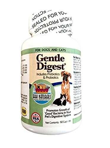 Ark Naturals Gentle Digest for Dogs & Cats, 60-Count Capsules (Pack of 3)