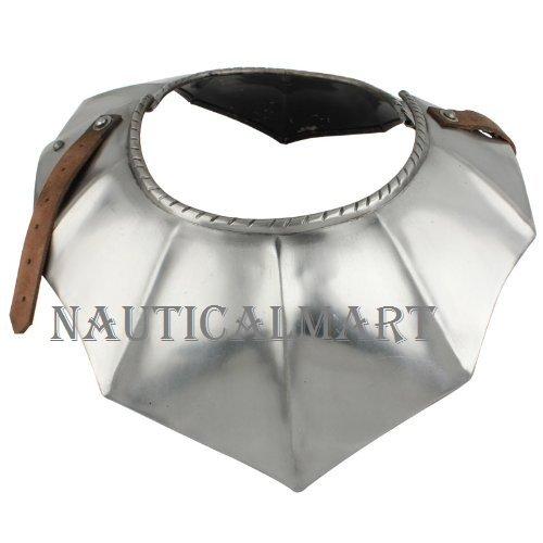 NauticalMart Medieval German Gothic Armor Gorget Upper Chest Armor by NauticalMart