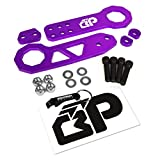 240sx tow hook - BlackPath - Honda + Acura Front and Rear JDM Racing Style Tow Hook Set (Purple) T6 Billet