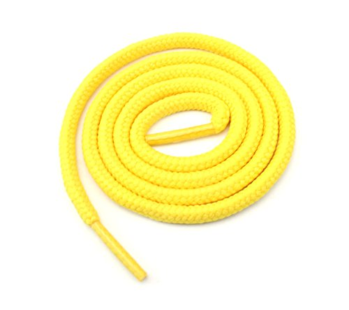 Bowling Yellow Shoe (Round Shoelaces 3/16