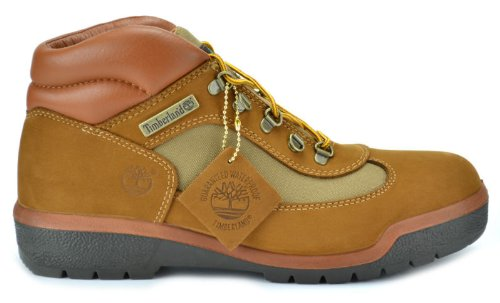 (Timberland Men's Waterproof Field Boots Brown 10028 (8.5 D(M) US))