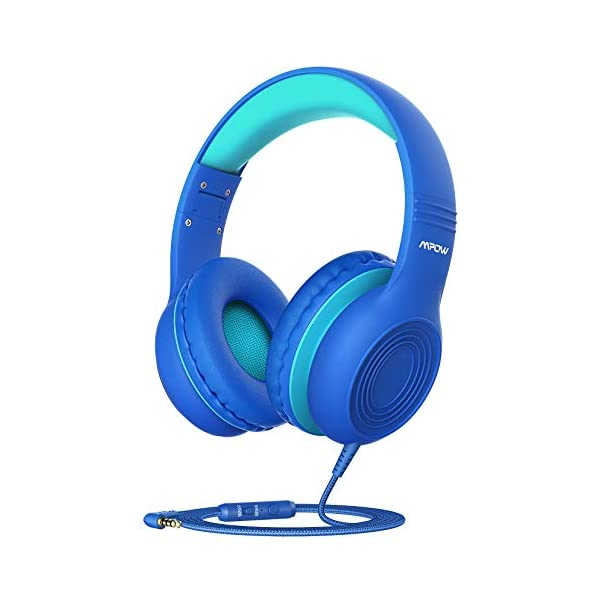 Mpow CH6S Kids Headphones with Microphone Over Ear, On Ear Headphones for Kids with HD Sound Sharing Function for…